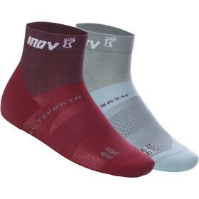 inov-8 All Terrain Middelhoge Sokken Dames, purple/blue grey